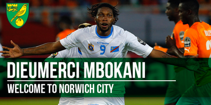 Officiel : Mbokani rejoint la Premiere League et Norwich City