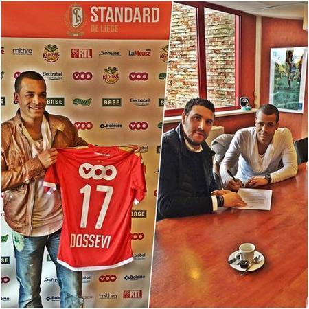 Dossevi reste au Standard jusqu'en 2020