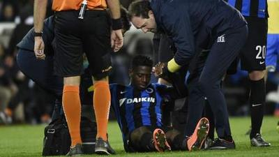 Bruges: Abdoulay Diaby out un mois