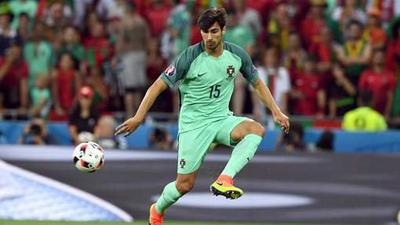 Le Portugais Andre Gomes au FC Barcelone