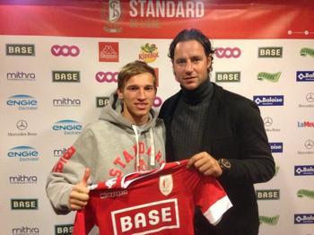 Valeriy Luchkevych au Standard, c'est officiel