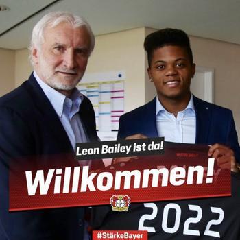 Bailey à Leverkusen, c'est officiel