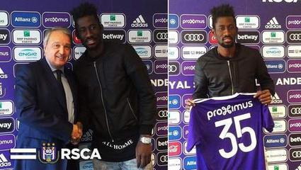 Anderlecht engage Ganvoula et le laisse en prêt à Westerlo