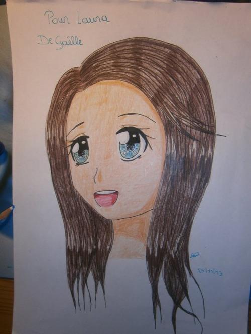 Commande pour une fille de ma classe (Laura)