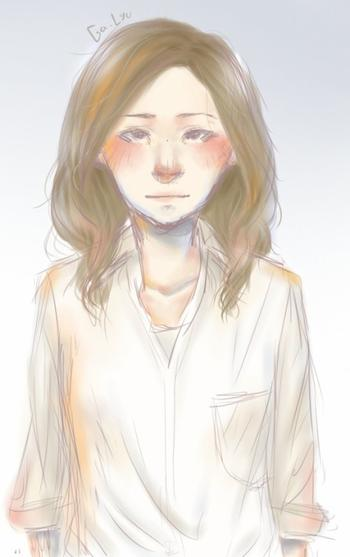 Autoportrait rapide