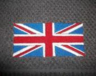Broderie Union Jack