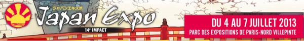 Japan expo 2013 du 04 au 07 juillet