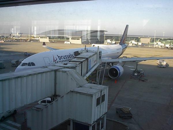 Départ depuis Brussels airport