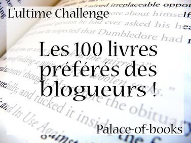 Challenge : les 100 livres préférés des blogueurs