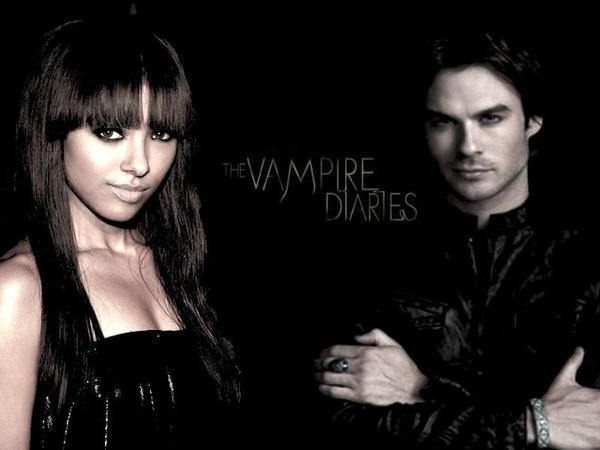 Damon et Bonnie dans The Vampire Diaries