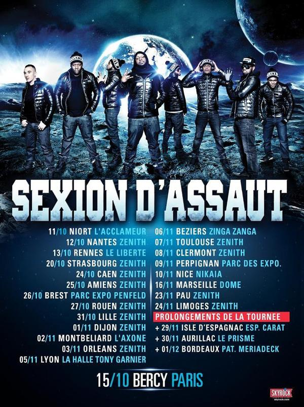 Sexion d'assaut concert prolongement