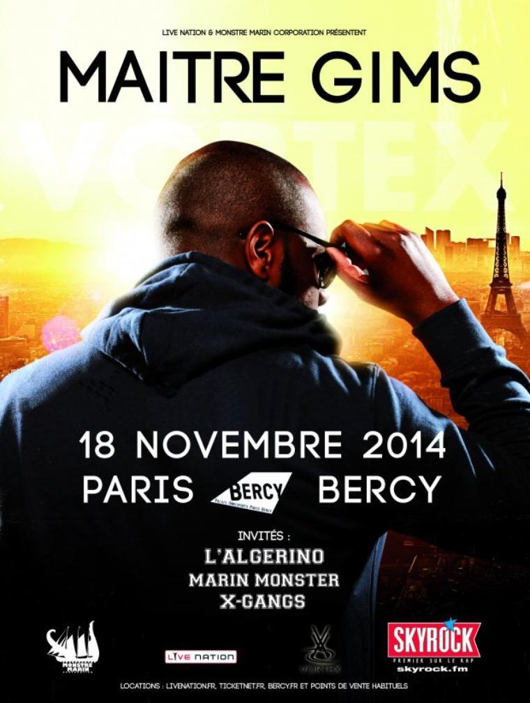 Maître Gims à Bercy