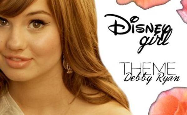 Welcome - Thême Debby Ryan
