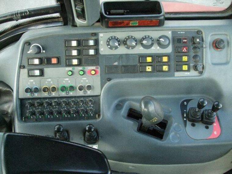 commande du valtra T160