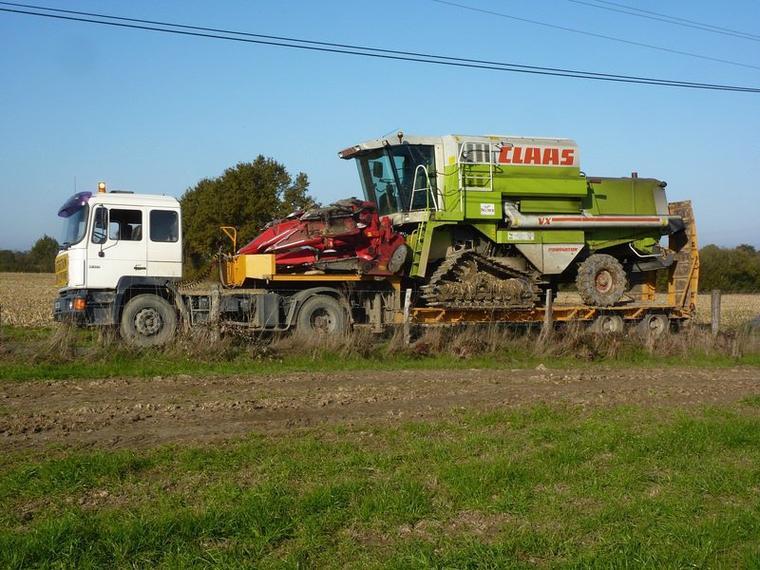 convoi agricole.