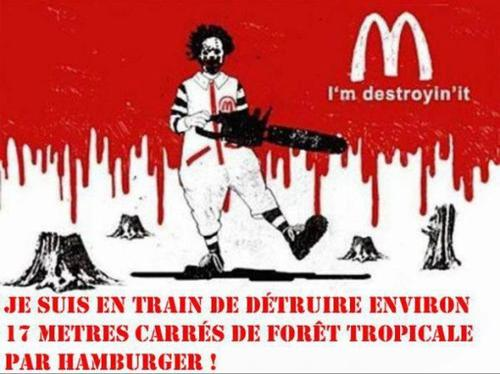 Le mensonge Mc Donald's