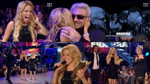 Shakira nrj musics awards 2011