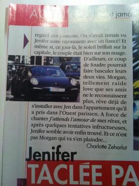 jenifer et la presse....  loin d'etre une histoire d'amour!!! ^^^^