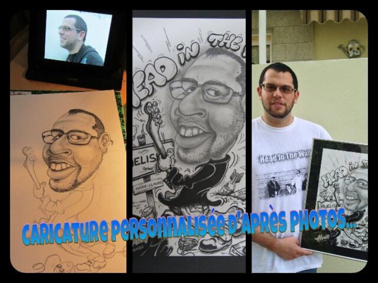 Caricature personnalisée d'après photos...