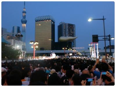 Samedi 28 juillet : Sumida Gawa Hanabi