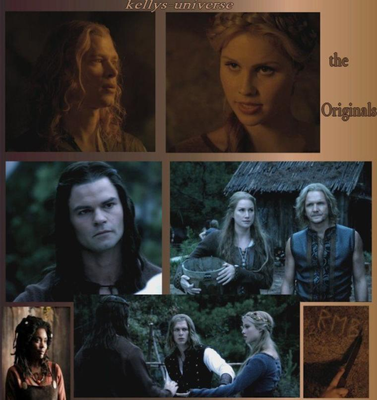 The Vampire Diaries : l'histoire des Originaux