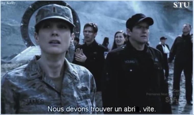 Stargate Universe saison 2 ép 1 INTERVENTION