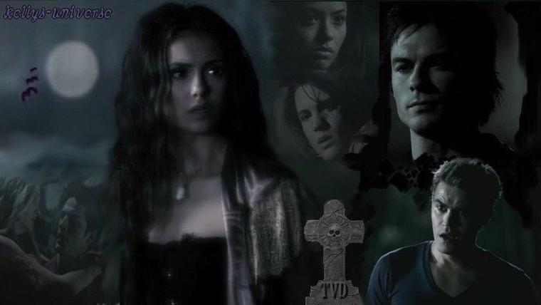 concours de créas The  Vampire Diaries...