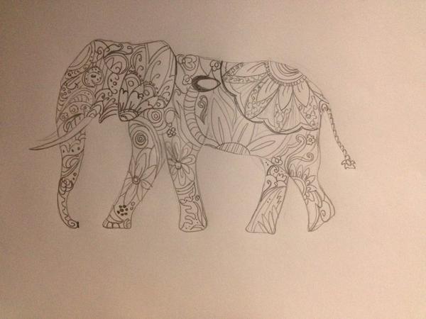 Un éléphant qui se baladait...