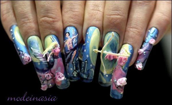 Le nail art from Japan