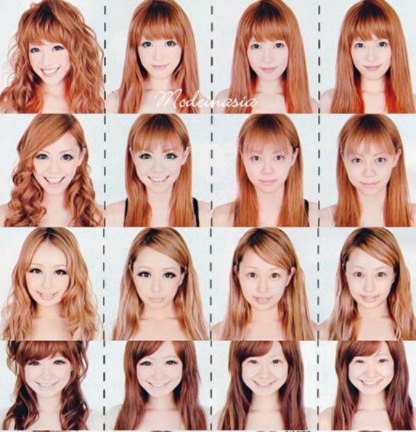 Le maquillage transforme tous les visages