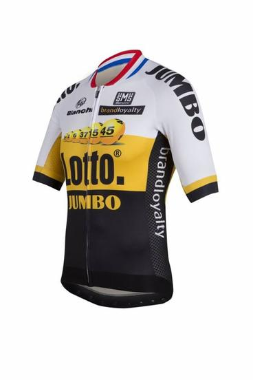 nouveaux maillots lotto-jumbo et tinkoff-saxo