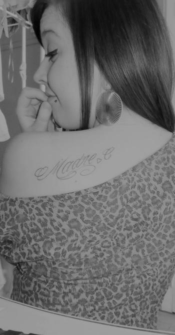 L'amour de ma vie, Maman ♥.