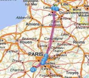 1 Juillet 2012  Ablis   colline de l'artois  223,345 km