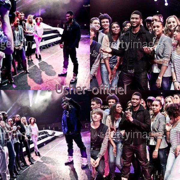 Artiiiiiicle 29:   Usher & et Les finalistes de X Factor neerlandais. ..:    mars 2011