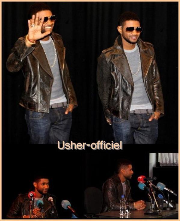 Artiiiiiicle 32:   Usher en Belgique  :  mars 2011