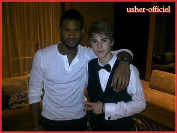 Artiiiiiicle 35:   Usher & Justin Bieber: 8  mars 2011