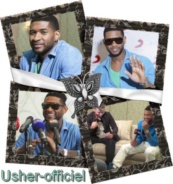 Artiiiiiicle 44:   Usher talks ahead of his debut Mideast concert. .  Mars 2011