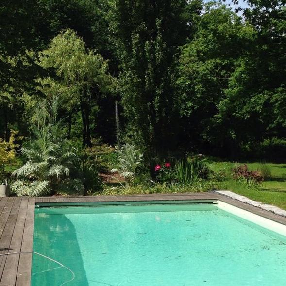 Piscine et jardins