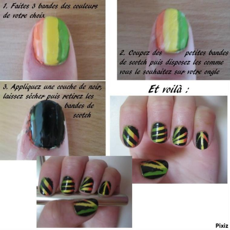 Nail Art scotch