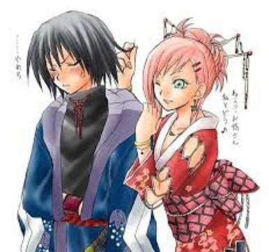 moi et ryu mon grand frere <3