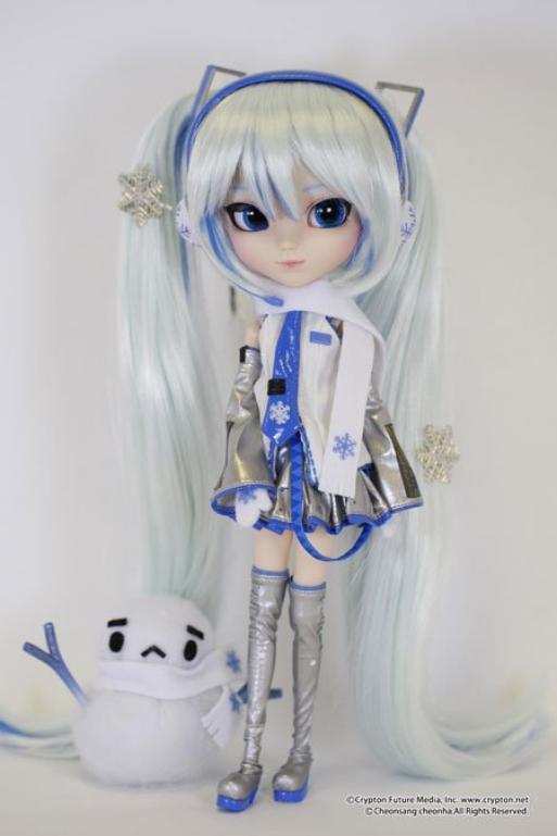 La 127e pullip : Vocaloid Snow Miku
