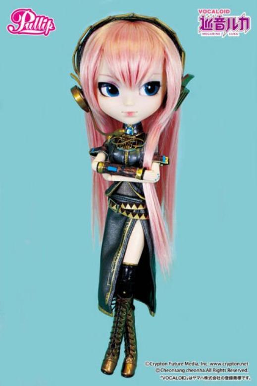 La 128e pullip : Vocaloid Megurine Luka