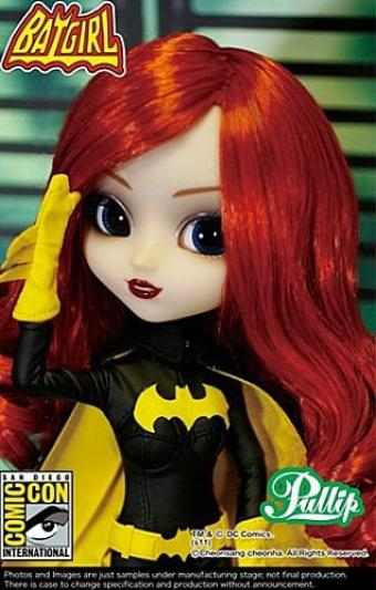 La 129 & 130e pullip : Batgirl et Catwoman.