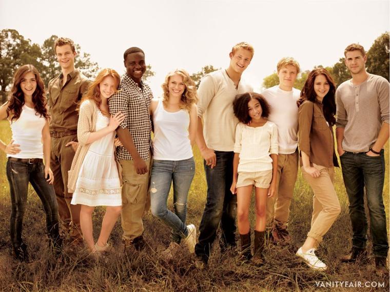 Le cast d'Hunger Games dans le magazine Vanity Fair