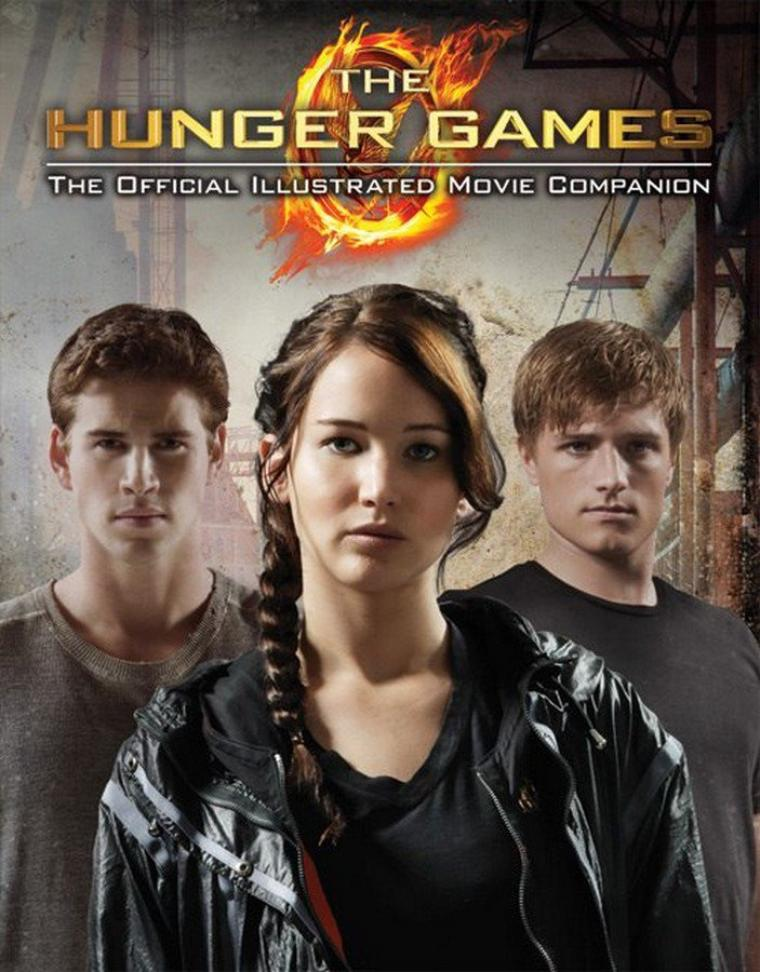Couvertures VO de la réédition d'HUNGER GAMES, du Guide Officiel du Film et du Hunger Games Tribute Guide