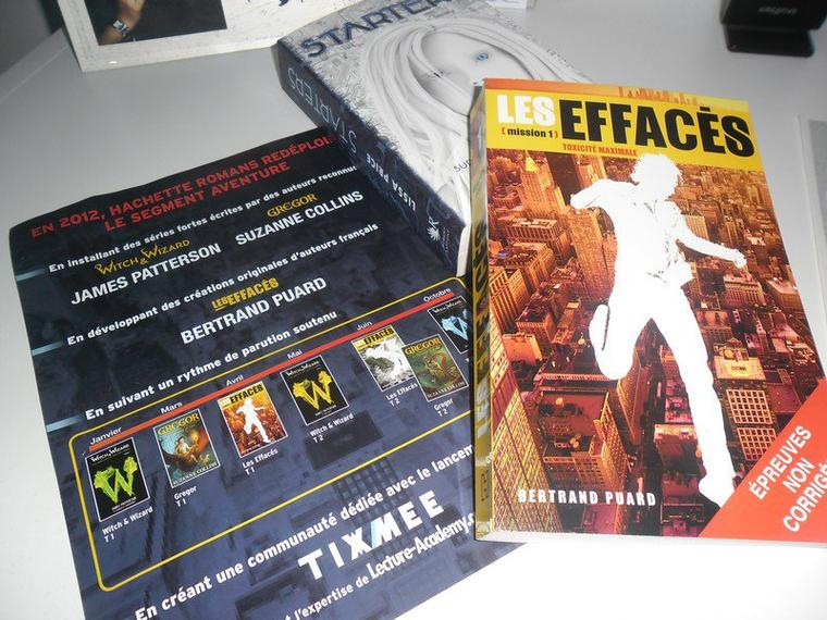 Extrait : Les Effacés Opération 1 - Toxicité Maximale chez Hachette