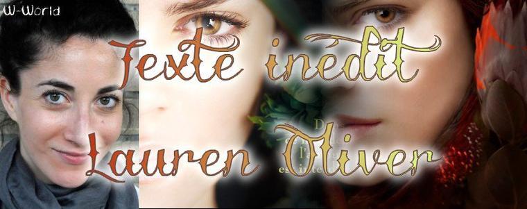 Texte inédit de Lauren Oliver à l'occasion de la Fête des Mères !
