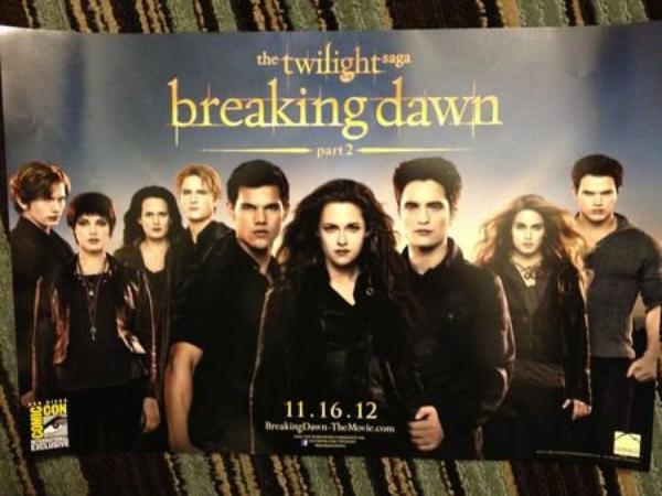 Vidéo : Première minute de Twilight Chapitre 5 !