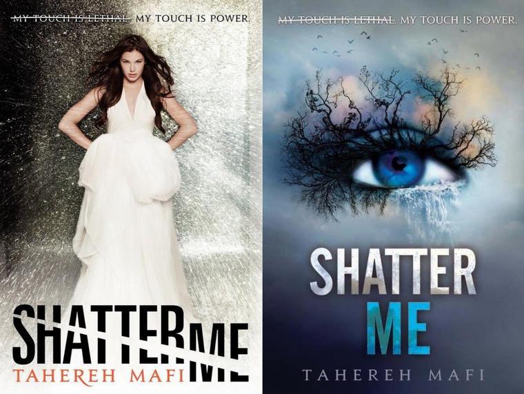 Shatter Me / Insaisissable T.1 : Les couvertures dans le monde !