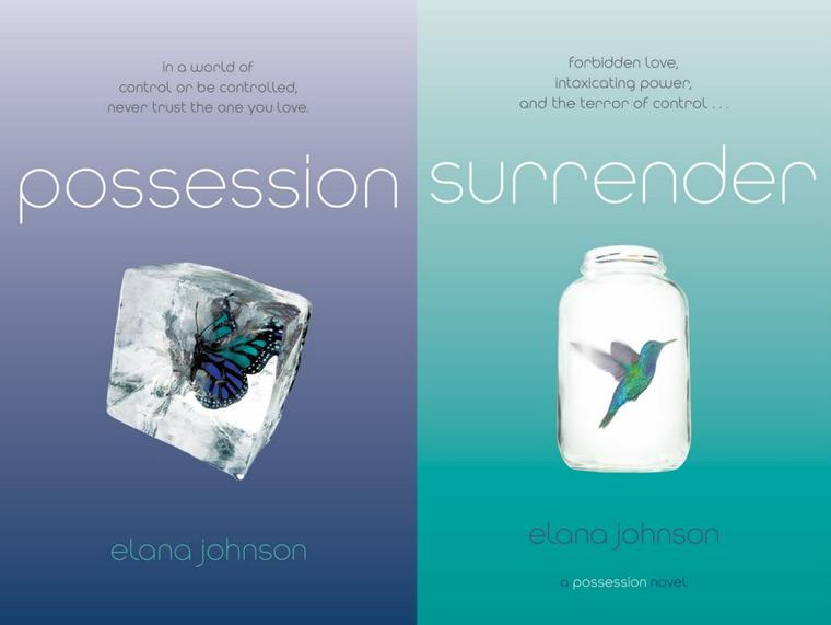 Couverture : Possession Tome 3 - Abandon d'Elana Johnson